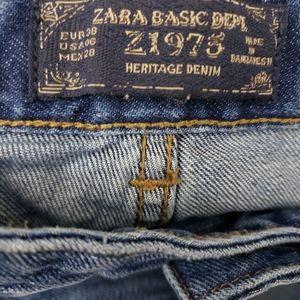 Zara Jeans - ZARA Heritage Denim Boyfriend Jeans SZ 6
